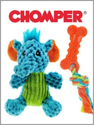 Chomper Dog Toys