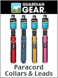 Guardian Gear Paracord Collars & Leads