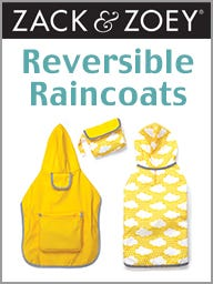 Zack & Zoey Reversible Raincoats