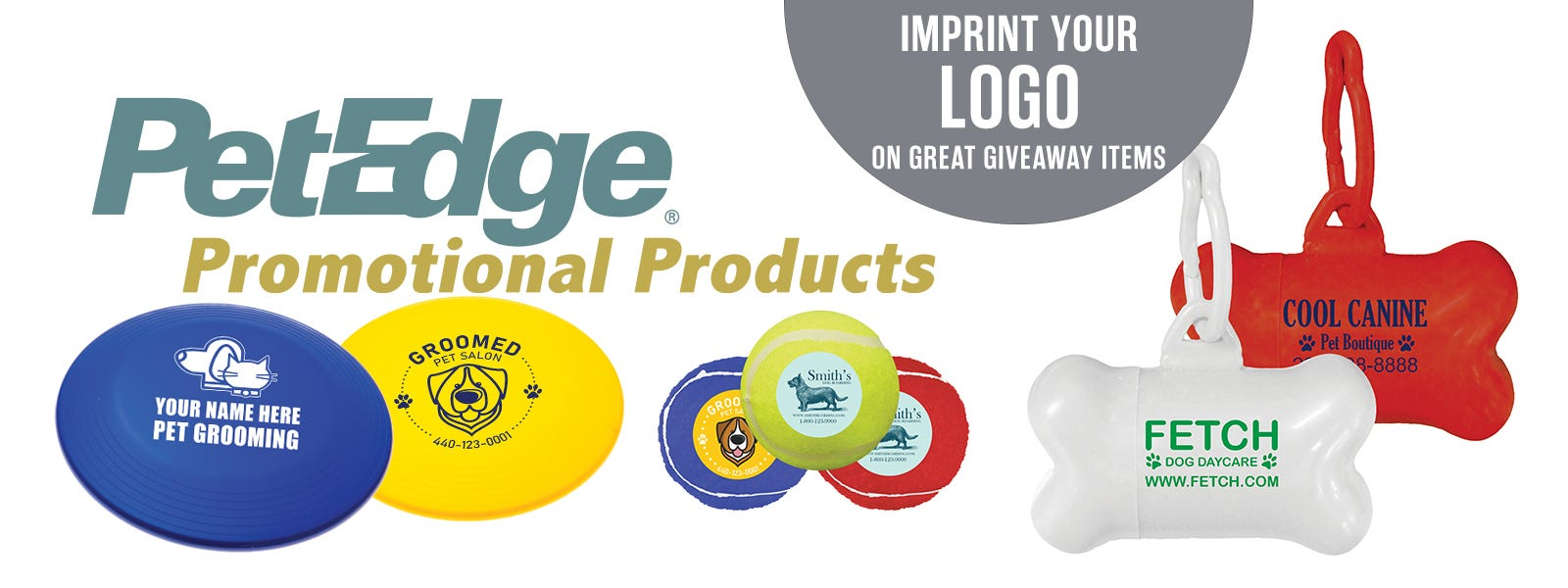 Imprint your logo on great giveaways