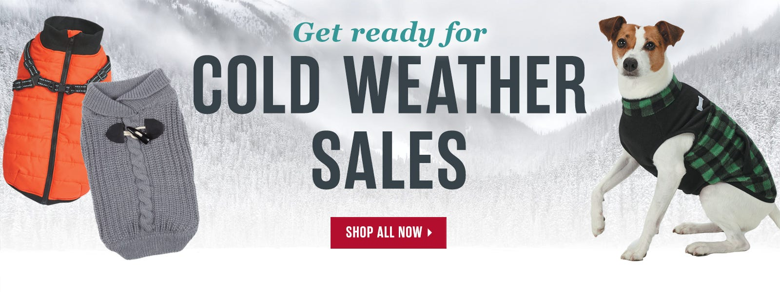 Get Ready for Cold Weather Sales