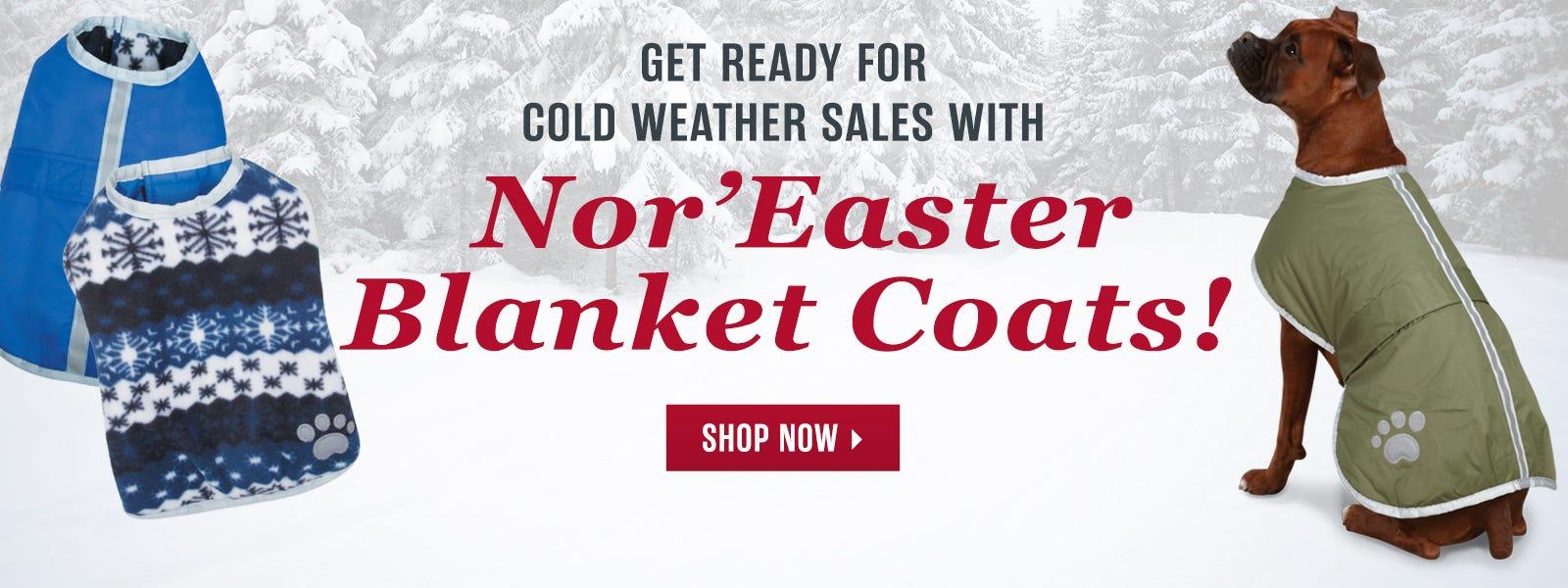 NorEaster Blanket Coats