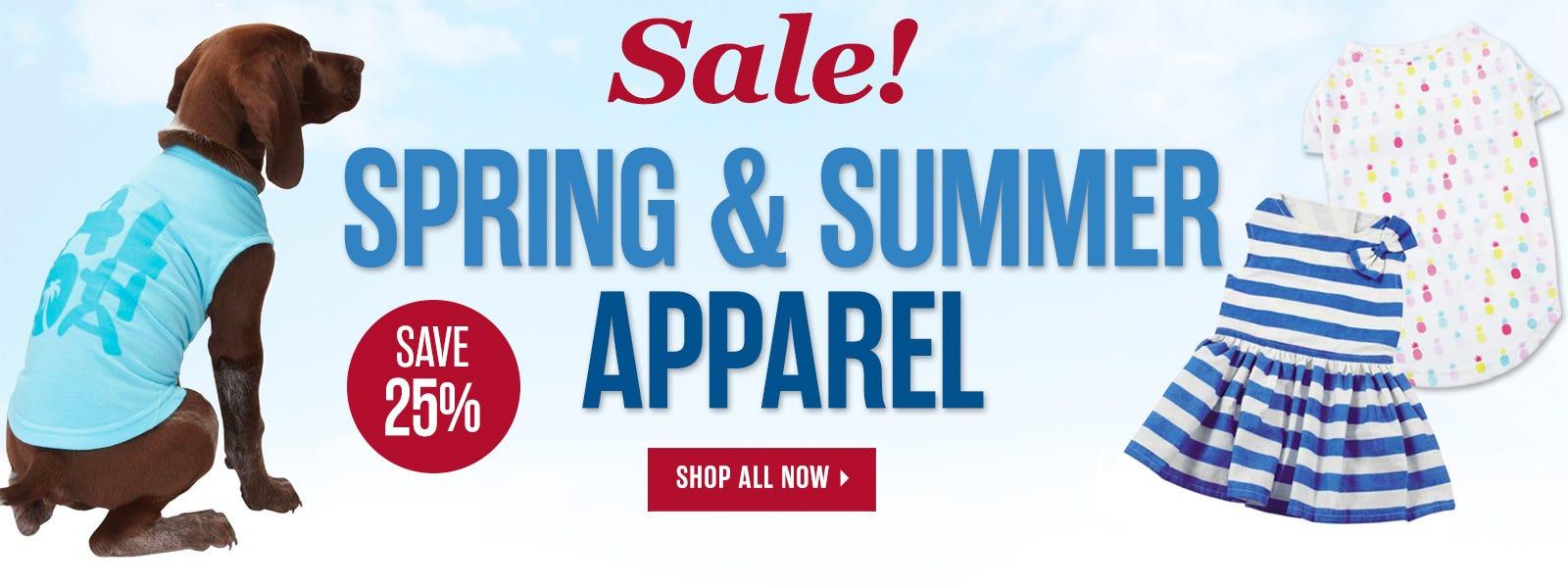 Spring Apparel Sale